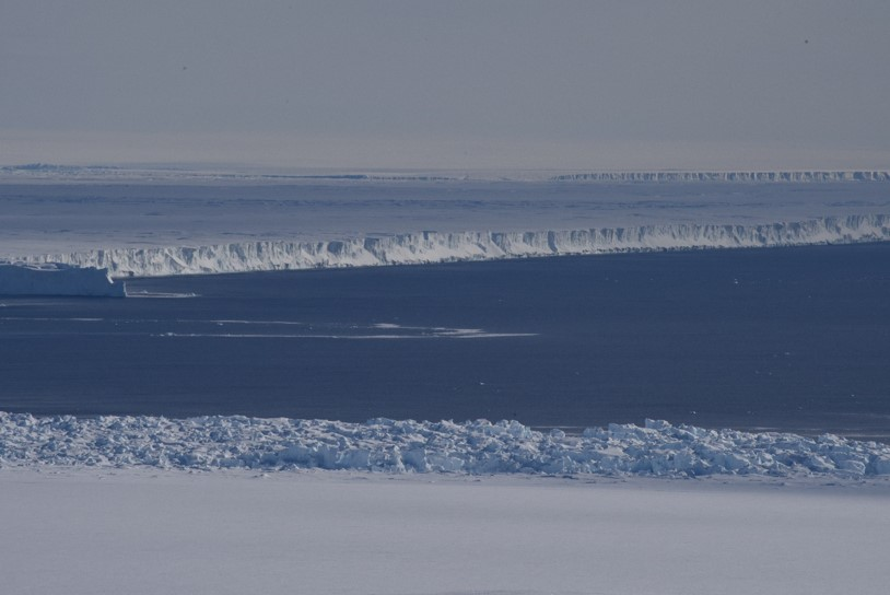 View of Pine Island Glacier