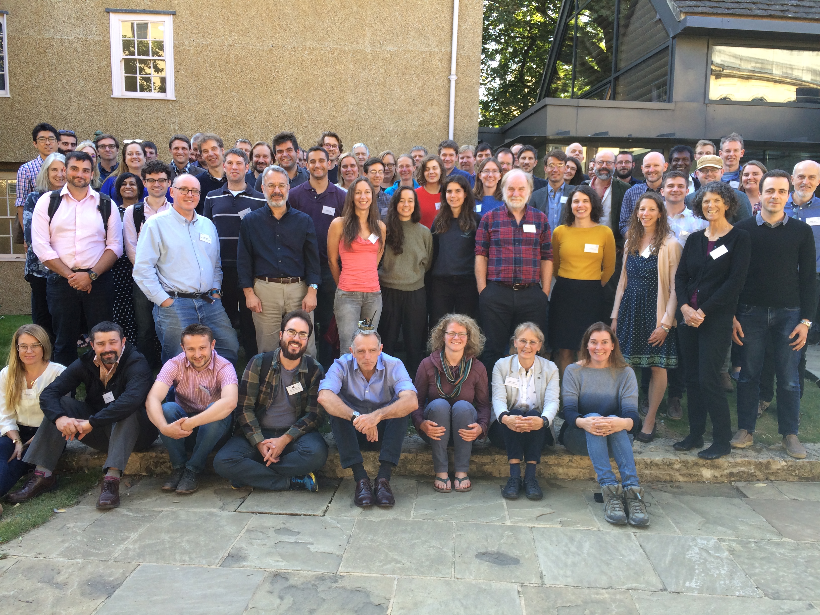 ITGC researchers and staff meet in Oxford, U.K.
