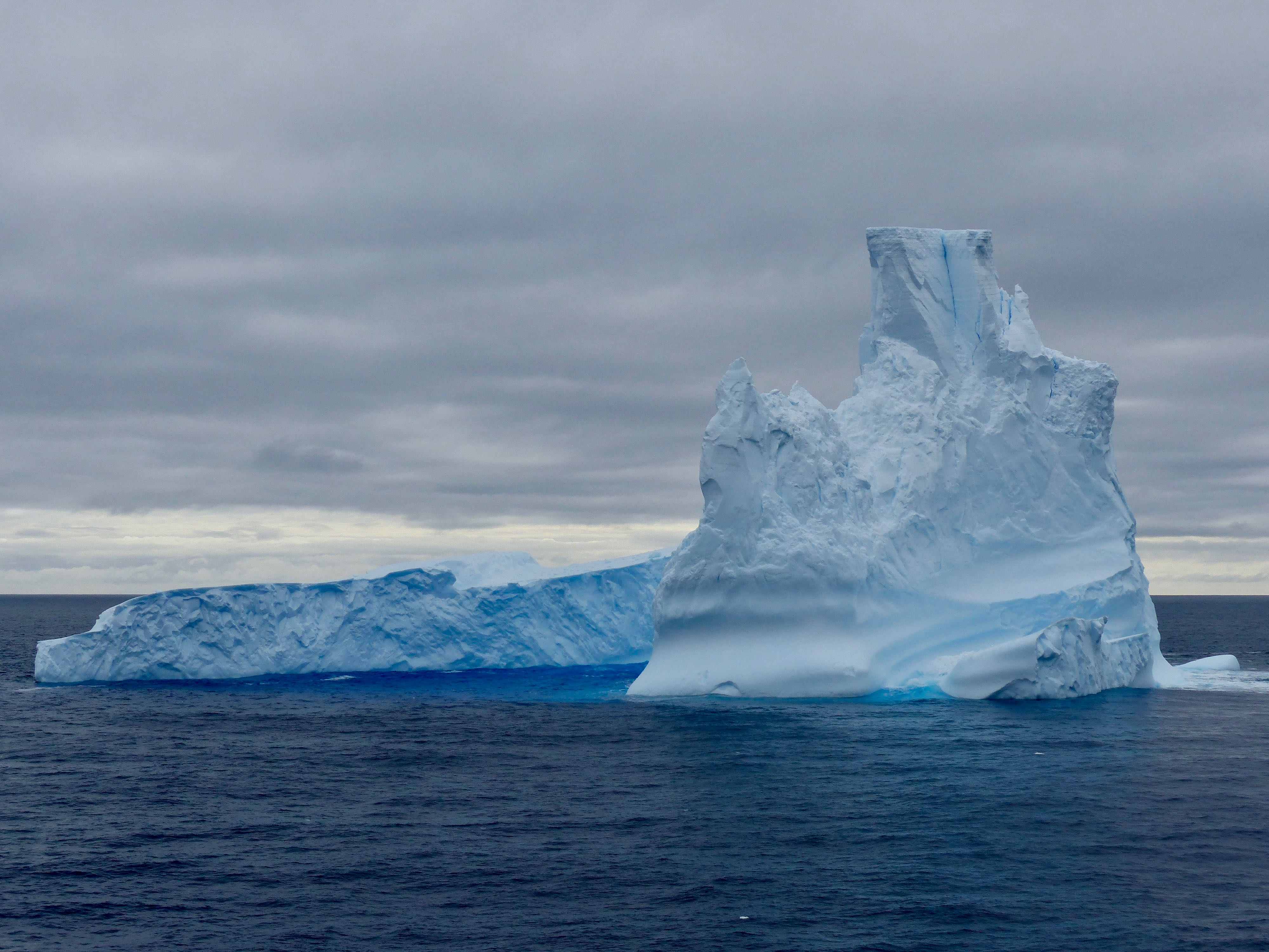 Iceberg seen in Antarctic waters.