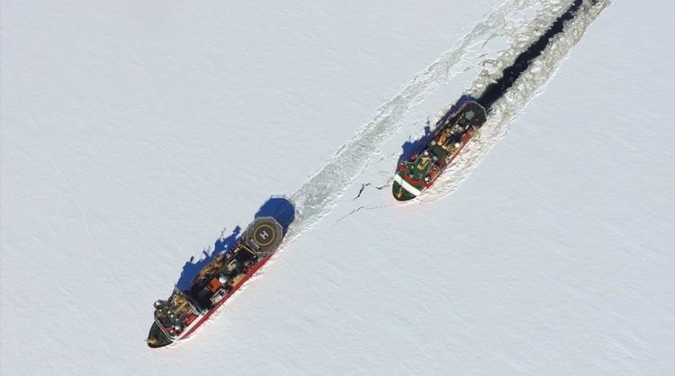 HMS Protector, RV Ernest Shackleton