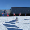 Flags at the South Pole Station