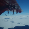Flying over Thwaites Glacier Jan 2020. Credit Carl Robinson