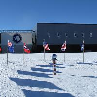 Antarctica Day Flags