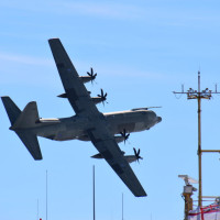 The RAF Hercules air dropped around 70 tonnes of cargo for the International Thwaites Glacier Collaboration.