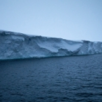 The eastern ice tongue, pictured here, is the most intact portion of Thwaites Glacier.